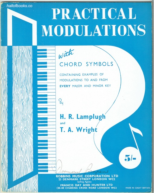 Image for Practical Modulations With Chord Symbols Containing Examples Of Modulations To And From Every Major And Minor Key