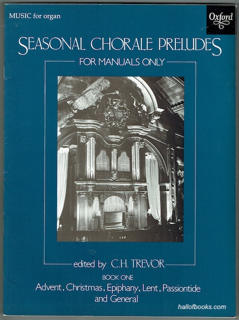 Image for Seasonal Chorale Preludes For Manuals Only Book One