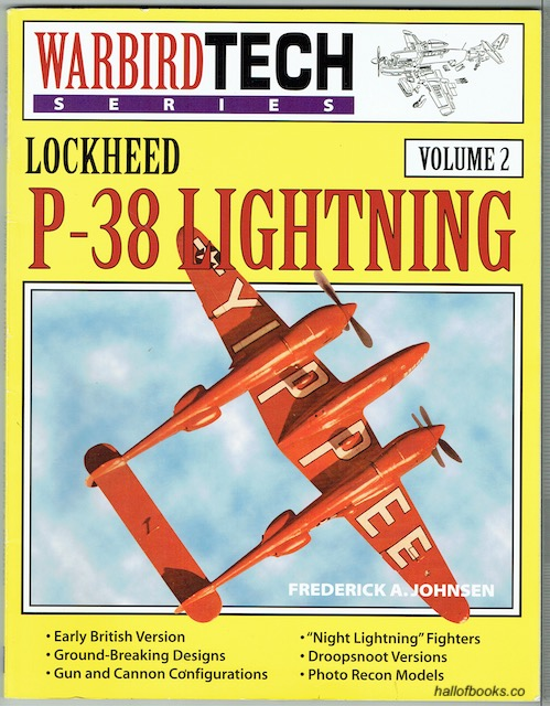 Image for Lockheed P-38 Lightning Volume 2