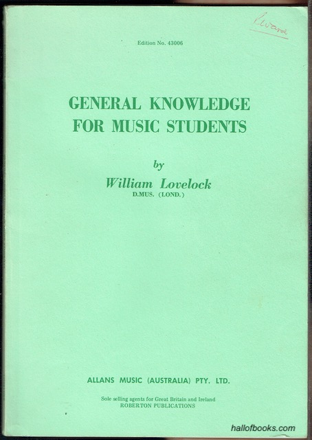 Image for General Knowledge For Music Students