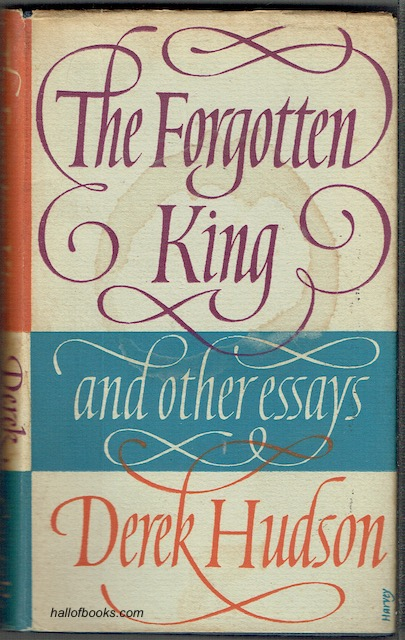 Image for The Forgotten King And Other Essays