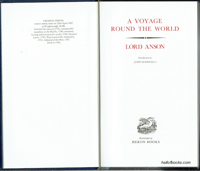 Image for A Voyage Round The World